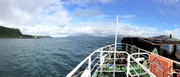 Sur le ferry de Tobermory à Kilchoan : farewell, Isle of Mull ! - Blog Le Bar à Voyages