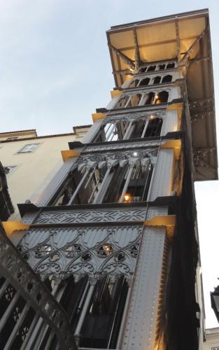 ascenseur santa justa Lisbonne - blog Bar a? Voyages