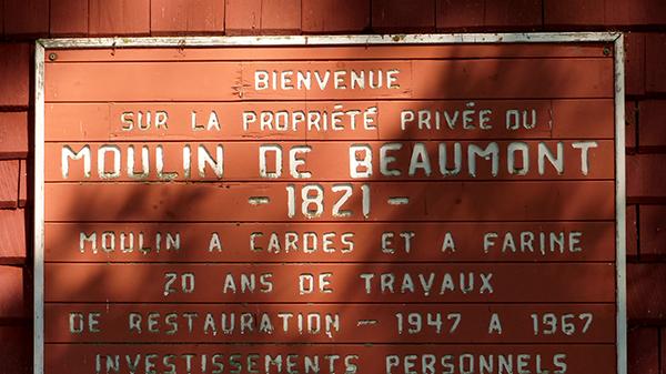 Le Moulin de Beaumont - Québec