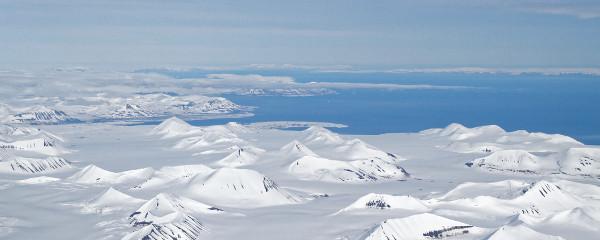 Svalbard vue avion - blog Bar a Voyages