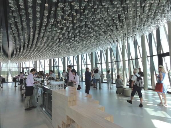 Le belvédère de la Cité du Vin Bordeaux - blog Bar à Voyages