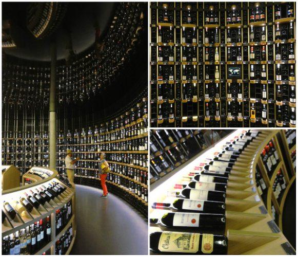 La cave de la Cité du Vin Bordeaux - blog Bar à Voyages