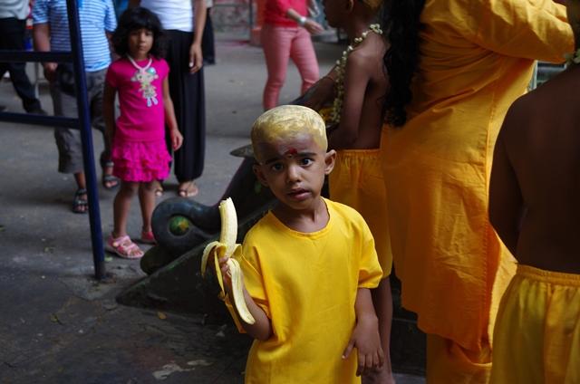 Enfant Batu Cave