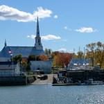 Le village de Saint-Michel et son église - Québec