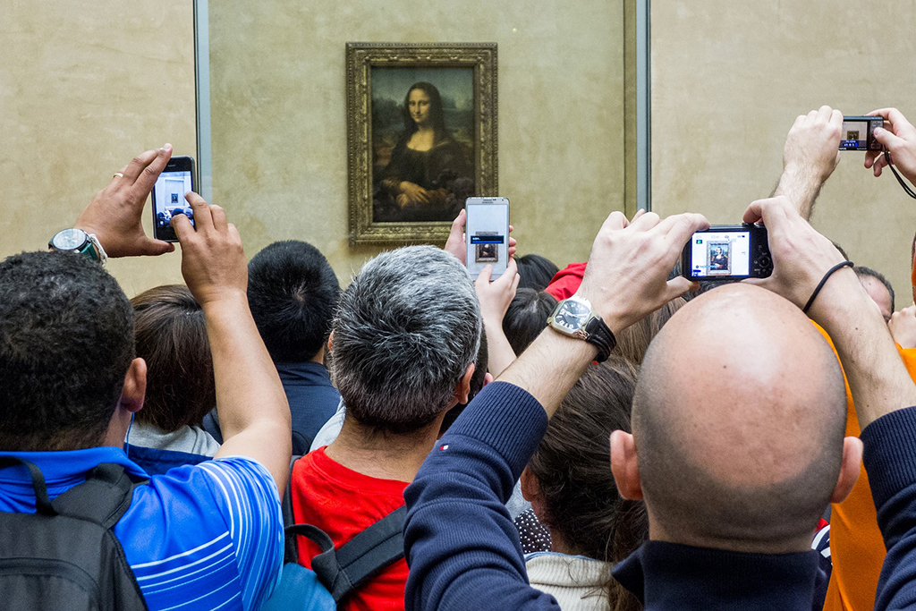 Certaines œuvres du Louvre victimes de leur succès sont difficilement accessibles... tandis que d'autres mériteraient qu'on s'y attarde davantage !