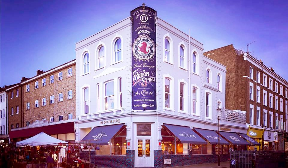 The Distillery, nouvel hôtel dédié au gin à Londres