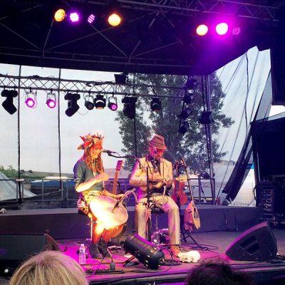 Sages comme des Sauvages lors du festival Musiques Métisses 2016 ©Le Bar à Voyages/Magali Renard