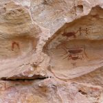 Peintures préhistoriques à la Serra da Capivara ©Felipe Mendes