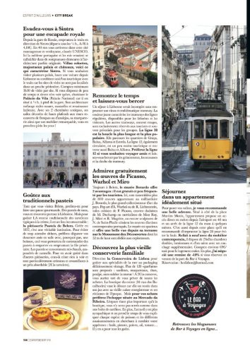 page 3 article Lisbonne magazine Esprit Berry 1