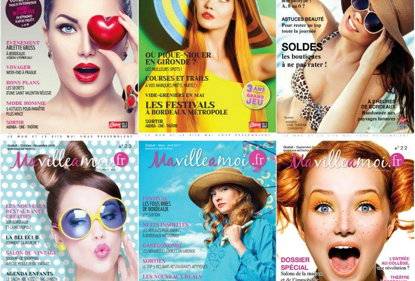 couvertures du magazine MaVilleAMoi